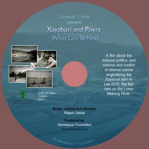 DVD cover_Xayaburi film